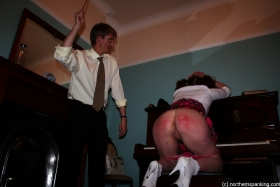 Click to view  A Caning For Ingrid