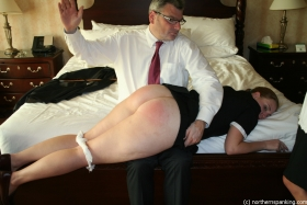 Click to view  The Travelling Disciplinarian & The Maids 2/4