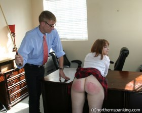 Click to view  Little Troublemaker Caned