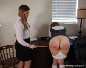 Click to view  Linny Visits The Headmistress