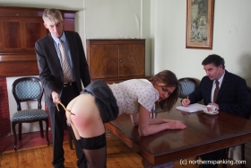 Click to view  Tea & Caning At The Home Office